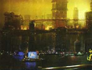 Шанхай. Вид сбоку